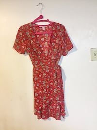 Red wrap dress  Mississauga, L5B 3A7