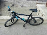 mountain bike blu hardtail