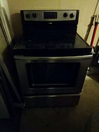 black and gray electric flat top range oven Fairfax, 22030