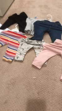 Baby girl clothes 3-6 month all new Coquitlam, V3J 4A2