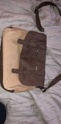 brown and black leather tote bag Washington, 20010