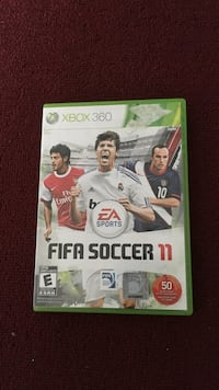 Xbox 360 EA sports fifa soccer 11 game  Mississauga, L5R 3K1