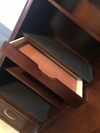 4-shelf, mirror drawer