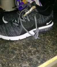 pair of black-and-white Nike running shoes Ann Arbor, 48103