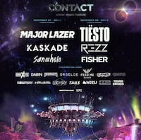 4 contact tickets available Vancouver, V5Y 1V4