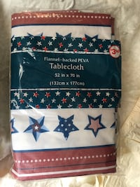 stars red white blue tablecloth New Cleveland, 44135