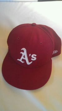 Red A's hat Victoria, V8Z 2G3