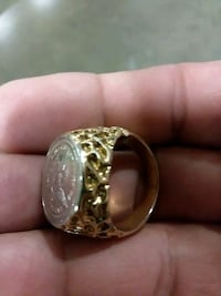 Men's ring gold