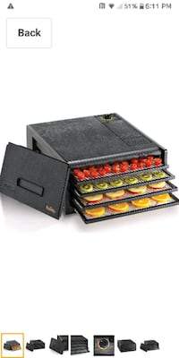 Food Dehydrator with 4-trays