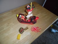 Fisher Price Imaginext Pirate Ship Kids Play Pirate Set  Cedar Springs
