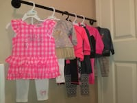 Baby girl lot 6 outfits Surrey, V3T 3Z3