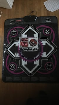 Dance dance revolution playing pad with game , ps3 Uxbridge, L9P 1A8