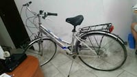 city ​​bike grigia e blu Messina, 98148