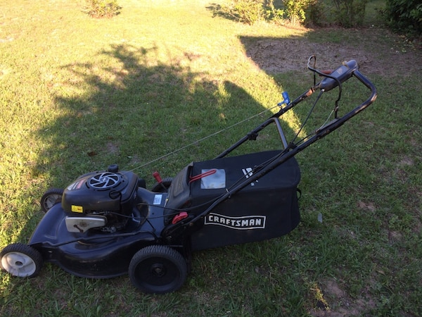 Craftsman Platinum Tl Hidden Ez Walk Variable Sd Drive System Lawn Mower 7 00 Ft Lbs