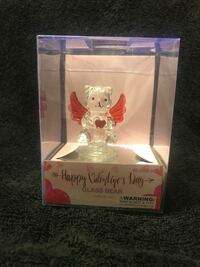 Happy Valentines Day Glass Bear Riverside, 92504