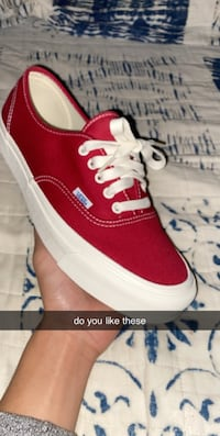 "Vans Authentic ""Chili Pepper"" Size 10 Mens Brantford, N3R 2X8"