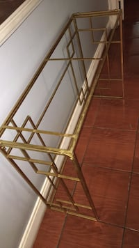 Fold up brass Asian table 42 by 31 by 13  Coconut Creek, 33063
