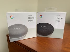 Two google home minis