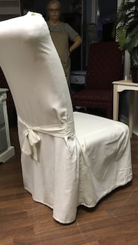 Chair covers, pressed & dry cleaned, $15 each, 4 total Kingsland, 31548