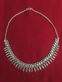 silver-colored beaded necklace Abbotsford, V2S 3N5