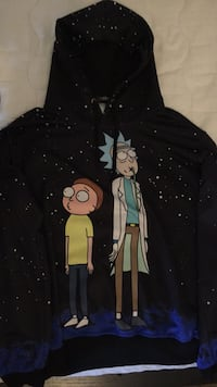 rick and morty hoodie (medium) (clean) Canton, 48187