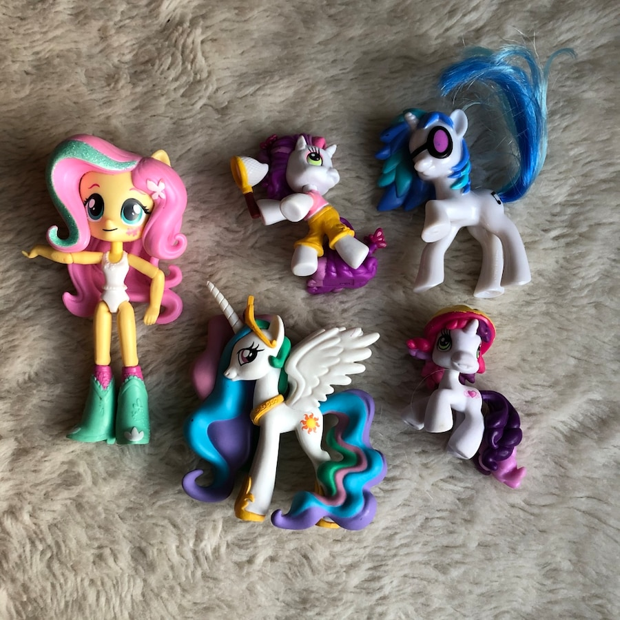 Photo My Little Pony Equestria Girl Figure Lot Ponies Friendship is Magic a
