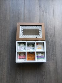 Tea Storage Box - 6 Compartments Markham, L6B 0R9