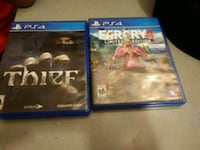 two Sony PS4 game cases Clovis, 88101