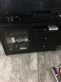 Dark Brown tv stand Only sorry not TV including