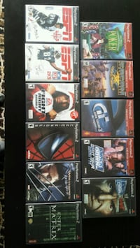 Various Playstation 2 games Toronto, M8V 0B2