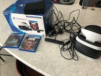 PS4 VR complete set. Mint condition W/box 2 games New Port Richey, 34655