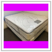 16 in. thick Double sided pillowtop Full Mattress West Mifflin