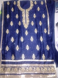 Cotton silk embroidered suit material Dehradun, 248008