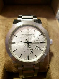 Burberry Watch  Stainless - White Face  North Providence, 02904