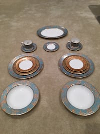 Lenox china gilded tapestry place settings (2) - new Ashburn, 20148