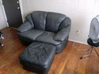 gray leather recliner sofa chair 373 mi