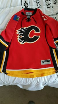 Calgary Flames Youth Small jersey Kitchener, N2E 3L4