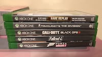 Assorted Xbox One Games-See Ad Toronto, M4C 5J7