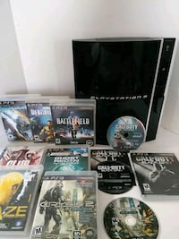 """PS3 """"FAT"""" CONSOLE/8+GAMES/BLK OPS/CRYSIS2  Antelope, 95843"""