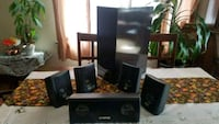 GENESIS MEDIA LABS SPEAKERS AND SUBWOOFER  Cicero