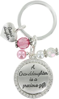Granddaughter Key Chain • Silver Henderson, 89074