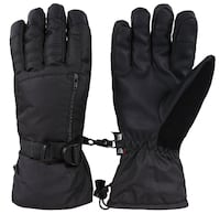Free shipping - Men's Waterproof Thinsulate Lining Ski Gloves w/Zipper Pocket  LOSANGELES