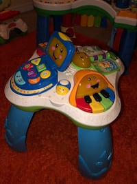 Toddler learning activity tables