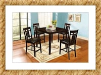Counter Height Dining Table New with 4 Chairs Elkridge, 21075