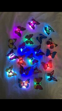 Flashing butterflies 20 pcs Sterling, 20164
