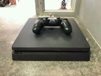 black Sony PS4 Slim with DualShock 4 London, EC2V