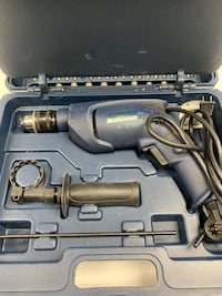 blue and black corded power tool with case Longueuil, J4K 3T6