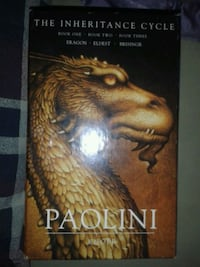 THE INHERITANCE CYCLE. 1STILL EDITION. NEVER OPENE Washington, 20024