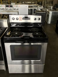 Whirlpool Black Electric Coil Top Stove Richmond