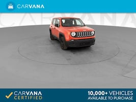 2015 Jeep Renegade suv Sport SUV 4D Red